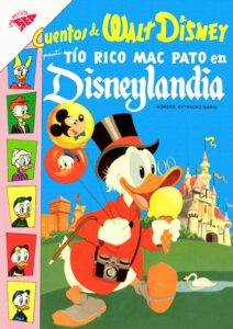 Cuentos Disney Tio Rico en Disneylandia