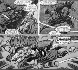 Historieta de Thor Vs Los Muertos de Loki