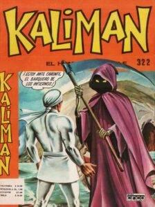 Kalimán y la Tripulación de Esqueletos Vivientes Historieta # 322