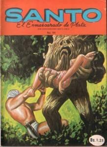 Santo Vs El Robot Gemelo del Profesor Barclo Historieta # 94