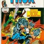 Thor – Cacería en Día de Muertos Historieta N° 59
